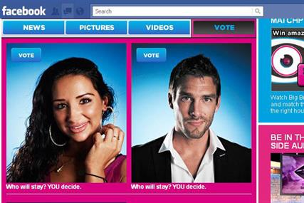Big Brother: Channel 5 show launches Facebook voting app