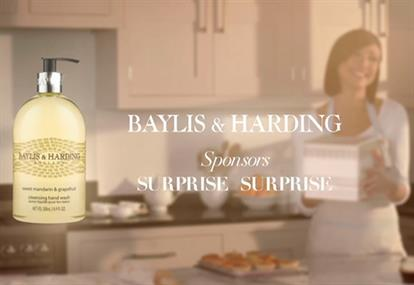 Baylis & Harding: 'Surprise Surprise' idents on ITV