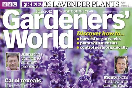 Gardeners' World: features scratch-and-sniff cover