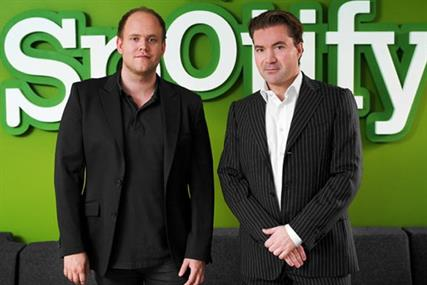 Daniel Ek and Martin Lorentzon: Spotify founders