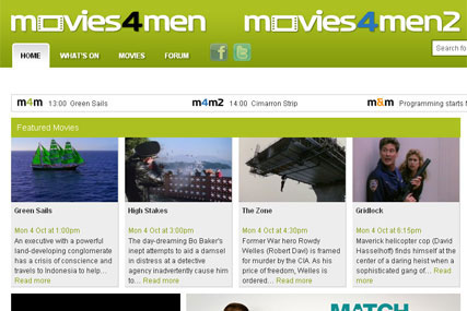 Movies4Men: expands male-biased offerings