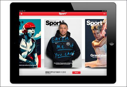 Sport magazine: iPad app notches up 23,000 subscribers in seven months
