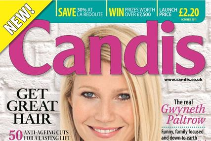 Candis: goes on newsstand sale later this month