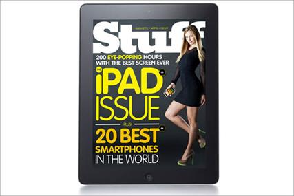 Stuff: gadget magazine launches iPad edition
