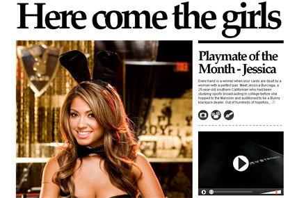 Playboy New Web Site