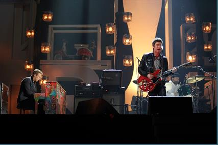 Brit Awards: Chris Martin and Noel Gallagher wow the crowds