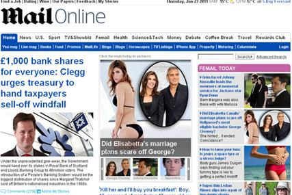 MailOnline: targets number one slot by 'end of summer'