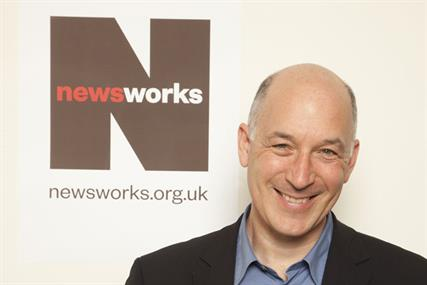 Rufus Olins: chief executive of Newsworks