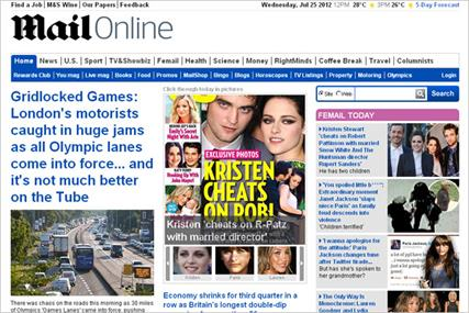 DMGT confirms Mail Online is profitable as group revenue hits 509m