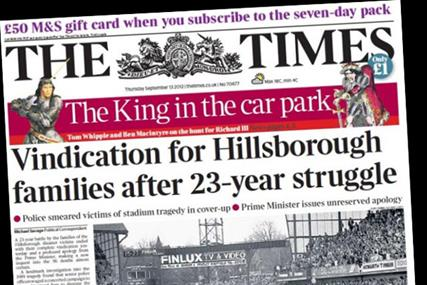 The Times: Andrew Knight is appointed chairman of Times Newspapers