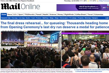 Mail Online: recorded 93.7 million global monthly browsers in June