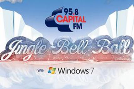 Global Radio: Microsoft Windows 7 to sponsor the Jingle Bell Ball