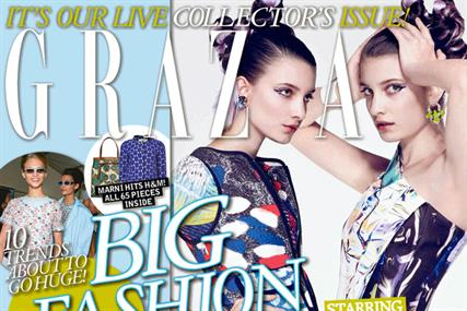 Grazia: fashion title backed its spring collector's issue with social publishing exercise