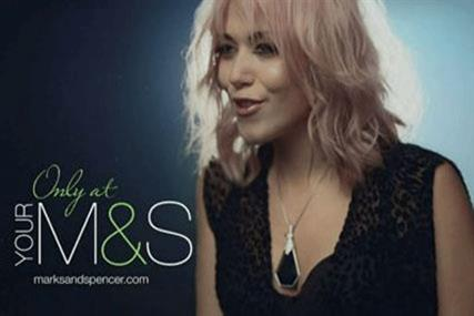Amelia Lily: focus of controversy over re-cutting of M&S X Factor ad