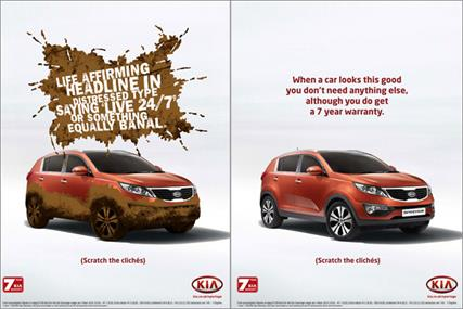 Kia: runs scratchable ad in The Telegraph Magazine