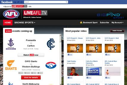 Facebook: to show more sports content via Perform's LiveSport.TV platform