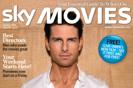 Sky Movies magazine, January 2010