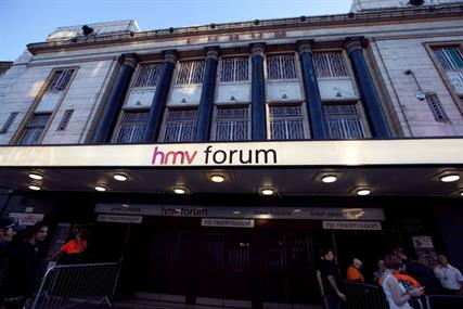 HMV Forum: one of the HMV venues included in the deal with SEI Media
