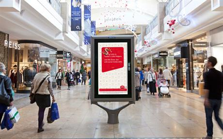 ...and in shopping centres...