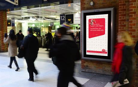 ...and commuters heading home for Christmas