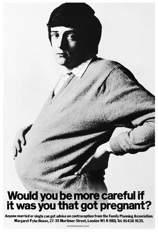 1970 - Health Education Council Pregnant Man.jpg