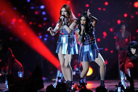 Icona Pop performed for the finale