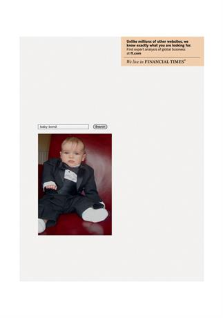Financial Times 'Baby Bond' by DDB UK