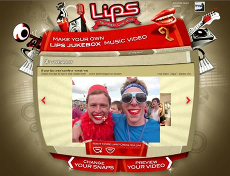 Xbox 'Lips Number One' by AKQA