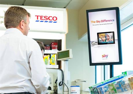 6. Tesco and Amscreen