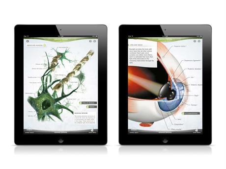 DK Human Body on the iPad