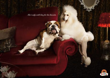 Frolic 'she's only with him for his biscuits' by CLM BBDO