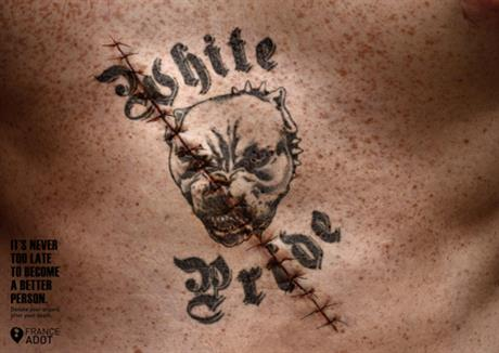 France Adot 'tattoos' by CLM BBDO