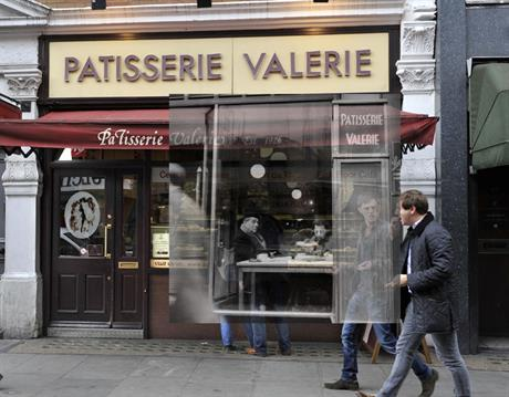 Museum of London app - Patisserie Valerie