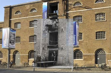 Museum of London app - West India Quay