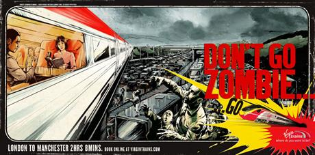 Virgin Trains - Don't Go Zombie - London to Manchester
