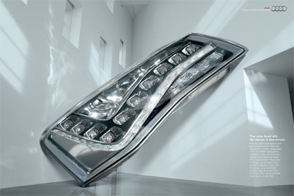 Audi 'No detail is too small - Headlight' by BBH