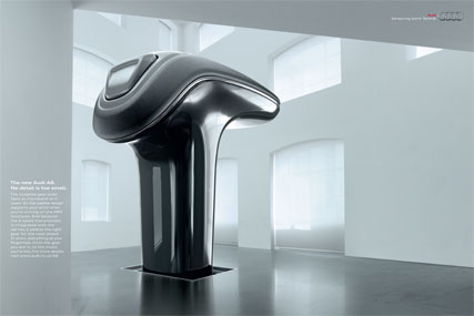 Audi 'No detail is too small - Gear Lever' by BBH