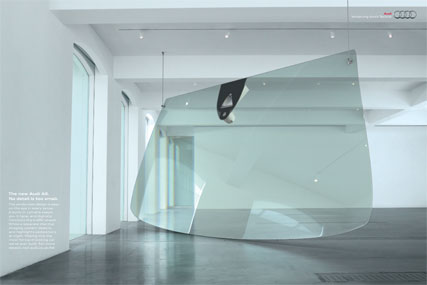 Audi 'No detail is too small - Windscreen' by BBH