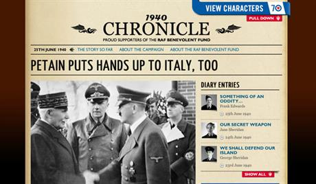RAF '1940 Chronicle' by Reading Room