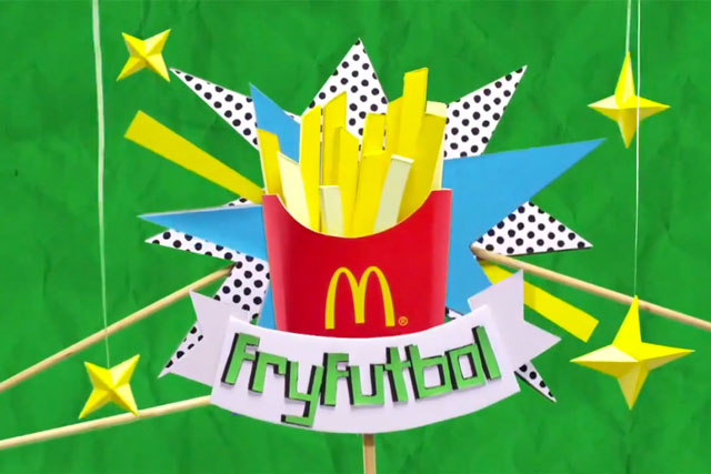 How Facebook teamed up with McDonald's to recreate the World Cup with fries