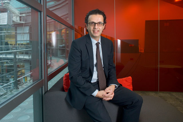 David Abraham is the chief exeDavid Abraham is the chief executive at Channel 4
