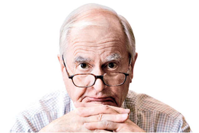 Jeremy Bullmore: doling out advice for the ad industry