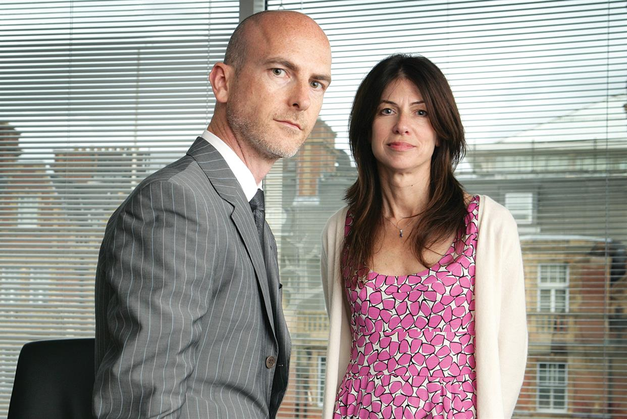 Craig Mawdsley and Bridget Angear, Abbott Mead Vickers BBDO