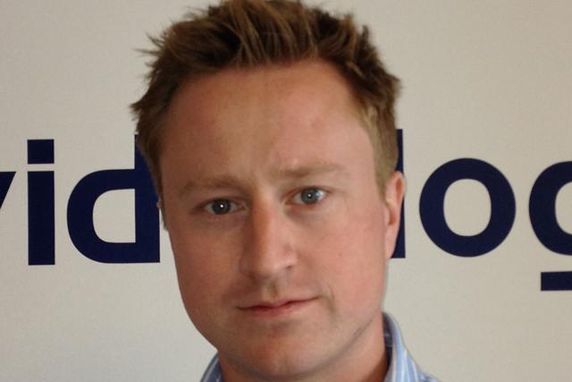 John Tigg, general manager EMEA, Videology
