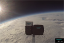 This startup sent a burger and chips into space