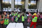 In pictures: Greenpeace hosts kids Lego protest outside Shell HQ