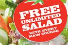 Pizza Hut to offer free unlimited salad to raise health credentials