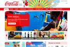 Coca-Cola overhauls UK website