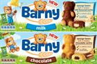 Mondelez launches Barny children's biscuit brand