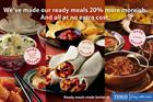 Tesco gives ready meals multimillion-pound revamp